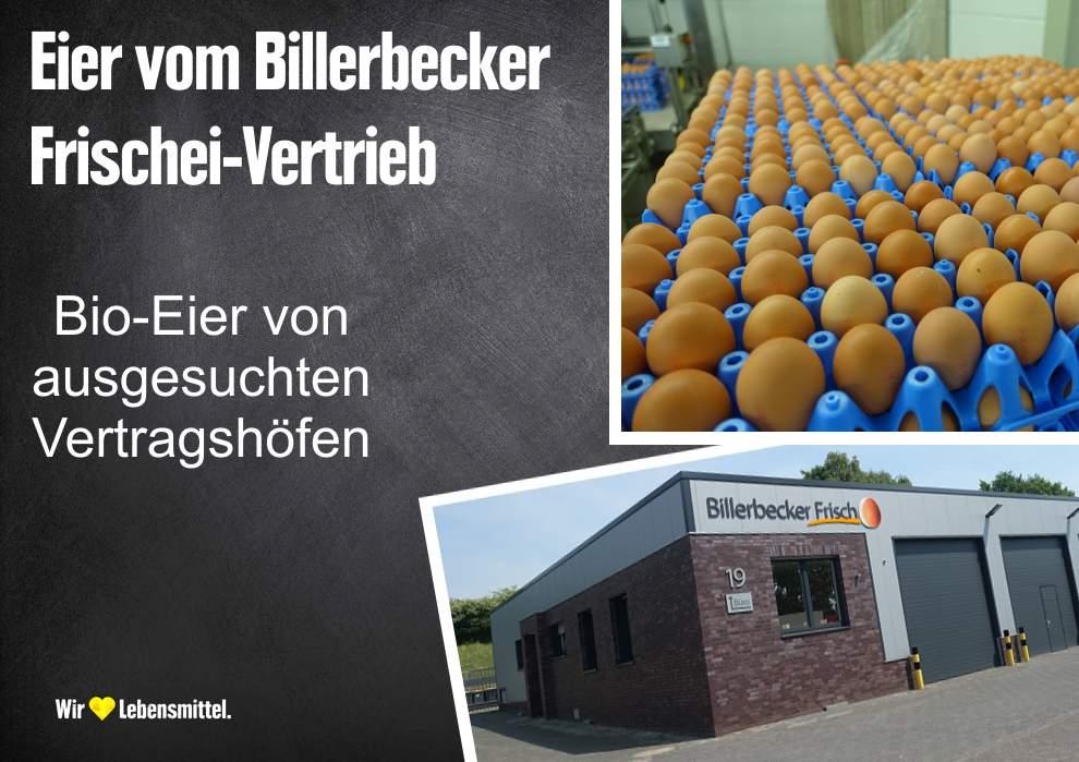 Eier vom Billerbecker Frischei-Vertrieb